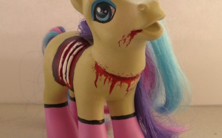 zombie-pinup-my-little-pony-pink-stockings2
